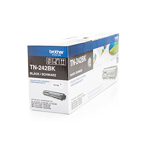 Brother Original TN-242BK /, für HL-3142 CW Premium Drucker-Kartusche, Schwarz, 2500 Seiten