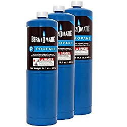 Standard Propane Fuel Cylinder – Pack of 3