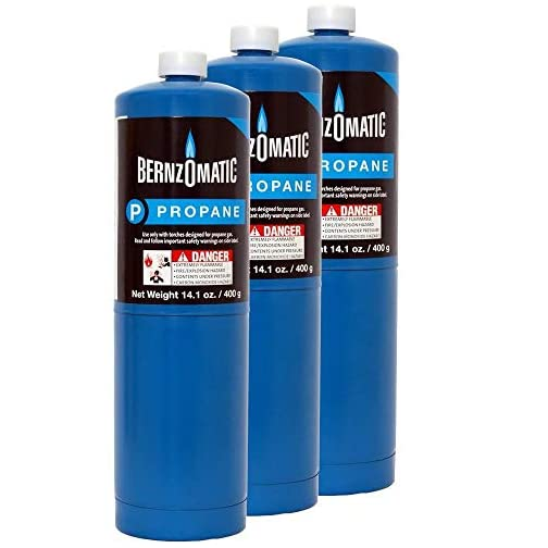Standard Propane Fuel Cylinder - Pack of 3 3