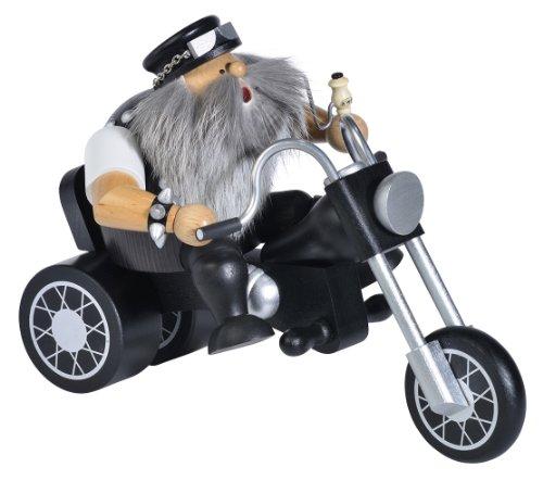 KWO Olbernhau 21492, Bruciatore di incenso Easy Rider, 15 cm, Multicolore (Mehrfarbig)