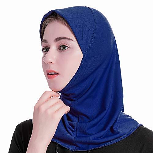 Grsafety2019 Mujer Musulmana Hijab bufanda Elegante Islámica Fulares Pañuelos para la cabeza con más colores
