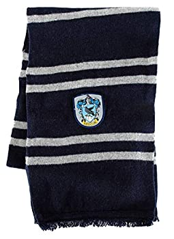 Warner Brothers Officially Licensed Harry Potter Hogwarts House Ravenclaw Lamb s Wool Scarf Blue