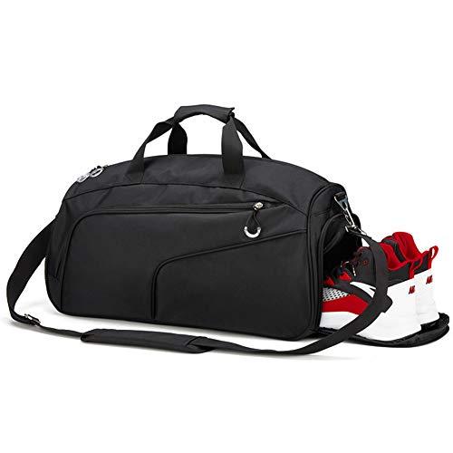 Segater® Sport Sporttasche wasserdichte Reisetaschen mit Schuhfach Männer Reisetasche mit Schuhfach Gym Fitness Tasche mit Rucksack Handgepäck Weekender Groß für Herren und Frauen
