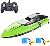 Barco de Control Remoto, Barco C168 RC para niños y Adultos, 25 GHz Barco de Alta Velocidad para Piscinas y Lagos, Incluye 2 baterías Recargables
