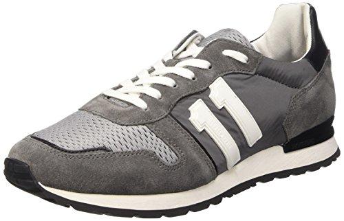 Bikkembergs Mant 650 L.Shoe M Nylon/Suede Scarpe Low-Top, Uomo
