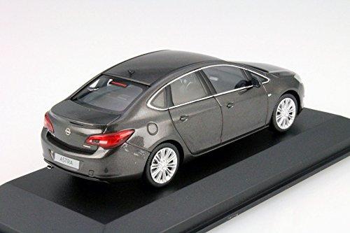 Opel Astra J Limousine, metallic-dunkelgrau, 2012, Modellauto, Fertigmodell, I-Minichamps 1:43