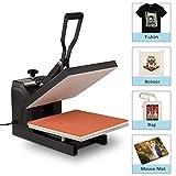 BAHOM Heat Press Machine for T Shirts 15x15in, 1400W Industrial Digital Heat Transfer Print Machine for Mug, Hat, Bag