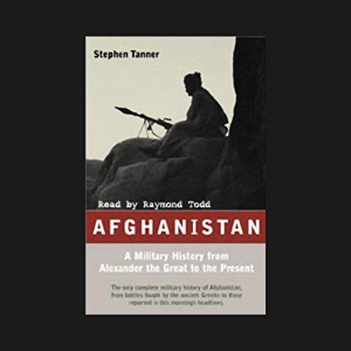 Afghanistan audiobook cover art