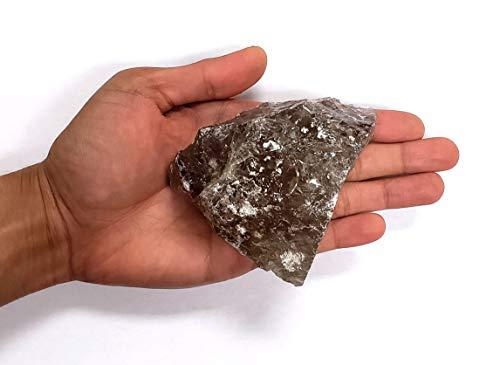 MINERALUNIVERSE Large Smoky Quartz Chunk - Raw Smokey Quartz Crystal Specimen - Large Natural Crystal Stone for Lapidary, Cutting, Cabbing & Crystal Healing