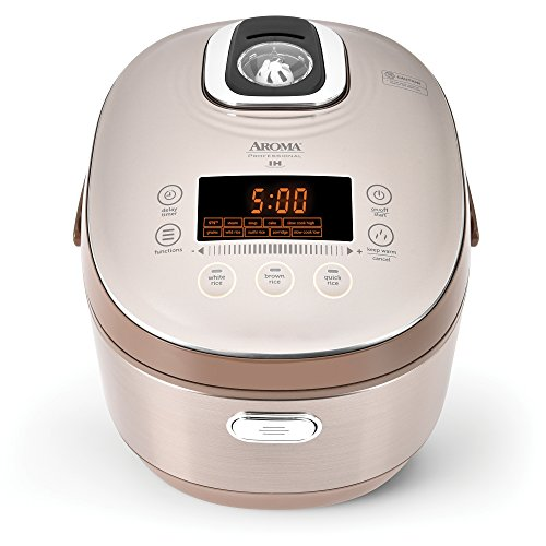 Aroma Housewares Aroma Professional Rice Cooker/Multicooker MTC-8010, 10-Cup Uncooked $102 at Amazon