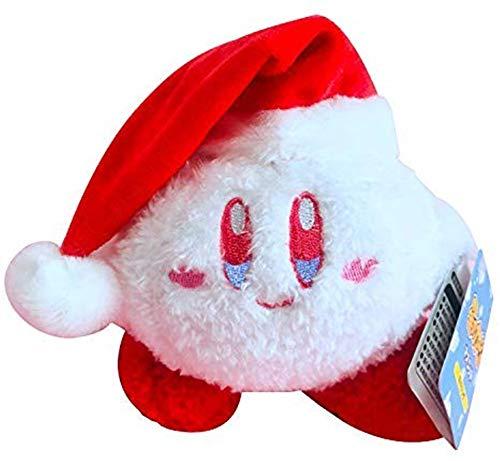 Aokshen Kirby Plüsch-Spielzeug, niedlicher limitierter Schneeball-Abenteuer, Kirby's Christmas Dream (Kirby-2)