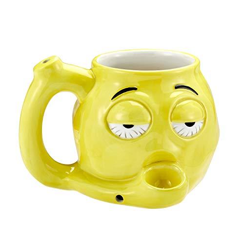 FASHIONCRAFT 88089 Stoner Emoji Becher - Braten und Toast Becher Keramik Kaffeebecher