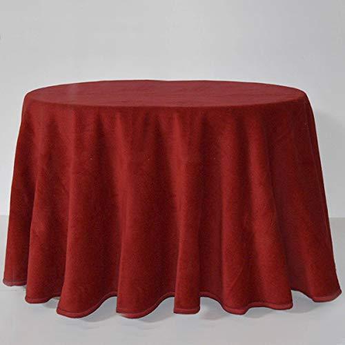 Falda de mesa camilla ovalada