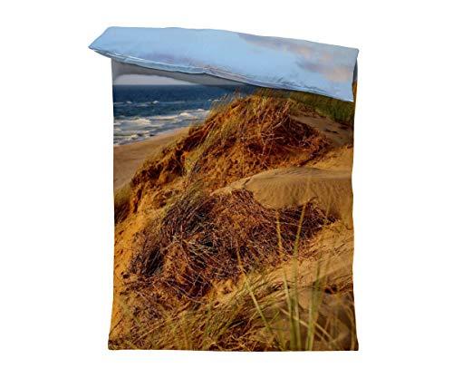 fotobar!style Bettbezug 135 x 200 cm bei Wenningstedt auf dem roten Kliff