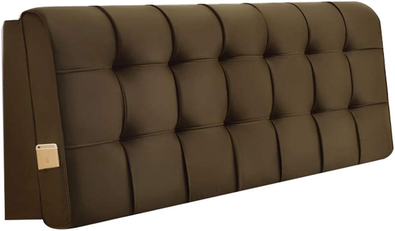 FEIYAN HOME Coussin De Lit, Couverture De Lit, Grand Dossier, Tissu Coussiné, Amovible Et Lavable A++ (Couleur   B, Taille   150cm)