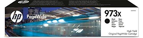 HP 973X Schwarz Original Druckerpatrone mit hoher Reichweite für HP PageWide