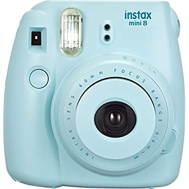 Fujifilm INSTAX Mini 8 Instant Camera (Blue) (Discontinued by Manufacturer)