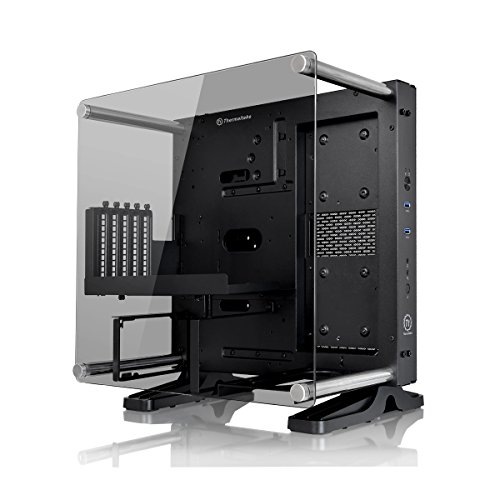 Thermaltake Core P1 TG Mini ITX Wall-Mount - Chasis de la Torre, Color Negro
