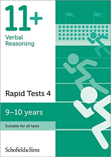 11+ Verbal Reasoning Rapid Tests Book 4: Year 5, Ages 9-10
