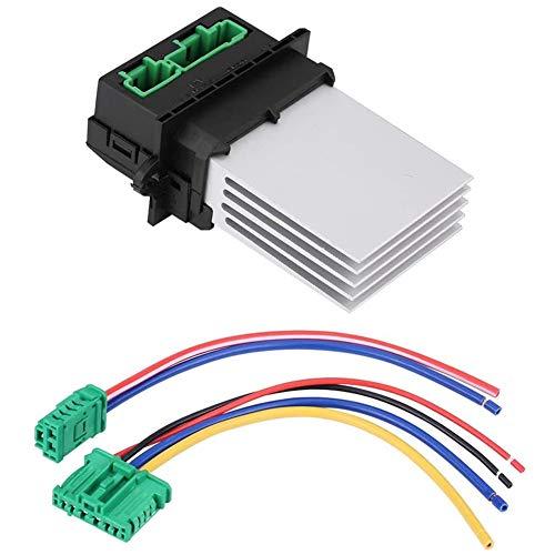 Accesorios para soplador de coche EVGATSAUTO, resistencia del ventilador del ventilador del motor del calentador con arnés de cableado