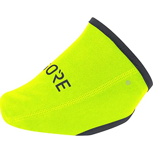 GORE WEAR Unisex C3 Windstopper Zehenschutz, neon yellow, 42-47
