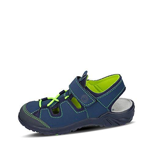 RICOSTA Kinder Sandalen Gerald, Weite: Mittel (WMS), Freizeit Outdoor-Sandale sommerschuh Halbschuh freizeitschuh,Jeans/Ozean,29 EU / 11 Child UK