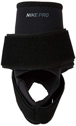 Nike PRO Ankle Wrap 2.0, Cavigliera Malleolare Unisex Adulto, Black/White, M