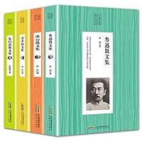 4冊の中国の古典的なエッセイLu Xun Zhu Ziqing Lao She Bing Xin/中国の有名なフィクション小説の本
