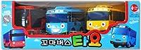[SET] Tayo The Little Bus ちびっこバス タヨ ミニ 3ピース (タヨ + ラニ + シツ) [並行輸入品]