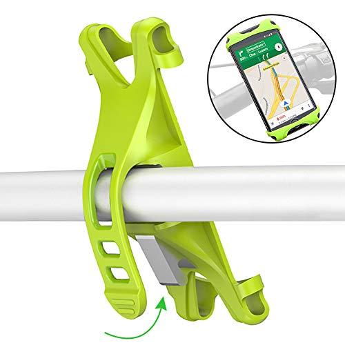 Fahrradhalterung Anti-Shake Motorrad Handy-Halter Universal Radsport Verhütung Von Abstürzen Fahrrad-Lenker Handyhalter Wiege Klammer Für 4,0-6,0 Zoll iPhone x/8/8 plus/8/7 Galaxy S8/S7/S6