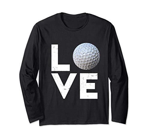 Golfer Golf Love Golf Ball Handicap Gift Long Sleeve T-Shirt