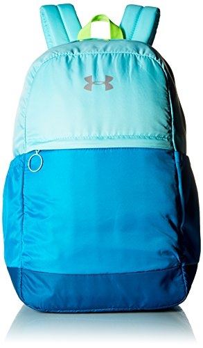 Under Armour Girls' Favorite Backpack, Blue Infinity (943)/Metallic Silver, One Size Fits All