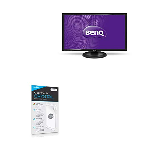 BenQ GW2765HT Screen Protector, BoxWave [ClearTouch Crystal (2-Pack)] HD Film Skin - Shields from Scratches for BenQ GW2765HT