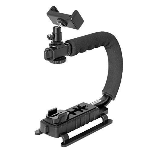 Fantaseal 4in1 DSLR/Mirrorless/Action Camera +Camcorder +Smartphone Stabilizer Holder We-Media...