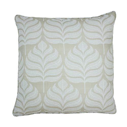 Paoletti Horto Cushion Cover, Natural, 45 x 45cm