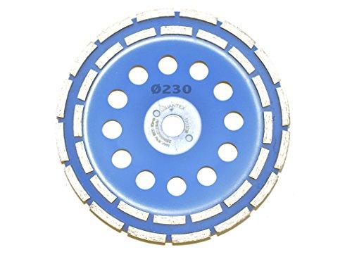 Diamant Schleiftopf Durchmesser 230 mm für Winkelschleifer. Diamantschleiftopf, Topf Scheibe, Betonschleifer, Schleifteller, Schleifscheibe.