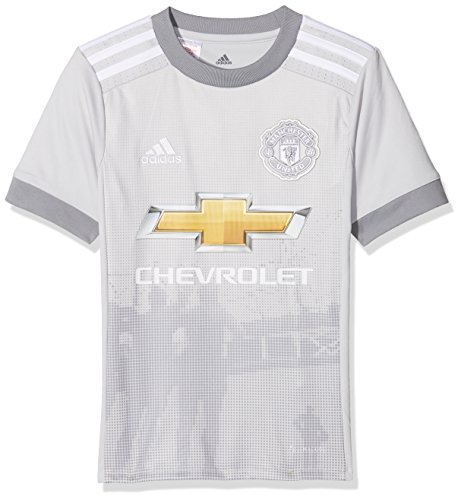Adidas Kid's AZ7562-140 Manchester United Replica derde trui, LGH effen wit/grijs, maat 140