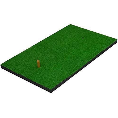 Lamyanran Alfombra De Entrenamiento De Golf Antideslizante Mats Golf Golf Matting Mat Golf Club Mat Swing Practice Mat, Adecuado para balcón, terraza y jardín GreenGreen, 40x70cm (Color : Default)