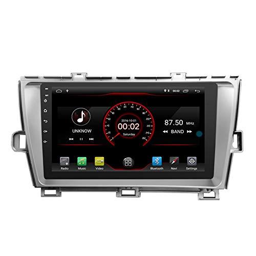 Autosion Android 10 lecteur DVD de voiture GPS Radio Head Unit Navi stéréo multimédia Wifi pour Toyota Prius 2009 2010 2011 2012 2013 2014 2015 BT Wifi
