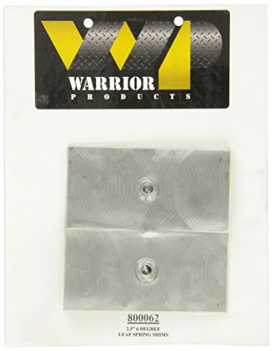 """Warrior Products 800062 2.5"""" - 6 Degree Leaf Spring Shims"""