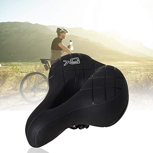 Mr.Tool Ergonomic Bicycle Seat 【7-16 Days Delivered】 Cushion with Anti-Vibration Spring and Punched Foam System US Stock