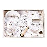 赤ちゃんの城 食器セット トリコロール