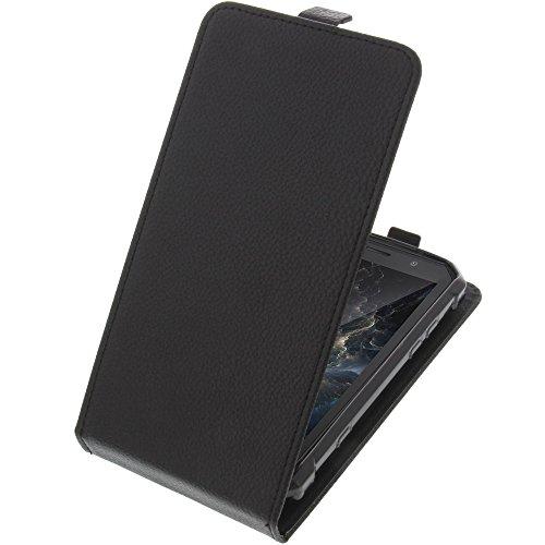 foto-kontor Tasche für Doogee S60 / S60 Lite Smartphone Flipstyle Schutz Hülle schwarz