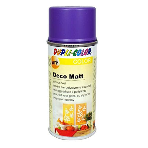 Dupli-Color 749131 Deco-Spray, 150 ml, Deco Matt Blaulila