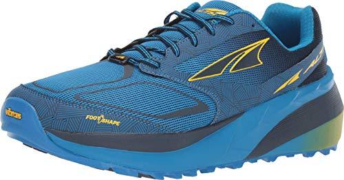Altra Men's Olympus 3.5 Trail Running Shoe, Green/Orange - 7 M US