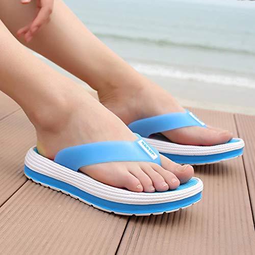 N\C YNS Lady Sandals Zapatillas clásicas de Verano Zapatillas de Suela Gruesa Zapatillas Informales de Playa Ligeras y Elegantes