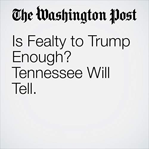 Is Fealty to Trump Enough? Tennessee Will Tell. copertina