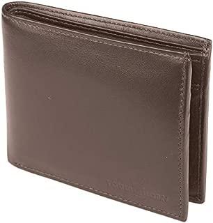 TOUGH HORN Men's Leather Wallet_THTAN00325