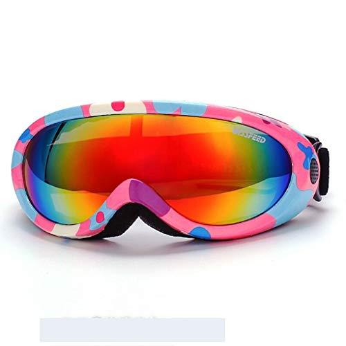 YouYou-YC Nieuwe jongens en meisjes skibril outdoor winddichte anti-mist en stofdichte paardrijden bril sneeuw klimmen bril