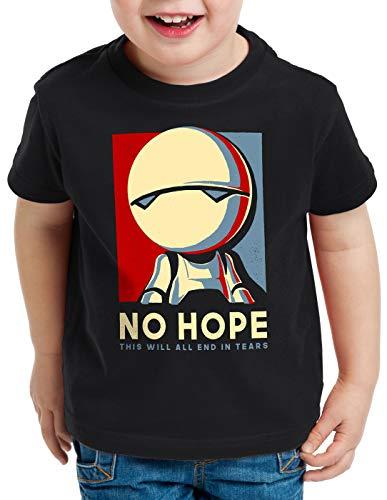 style3 Marvin T-Shirt per Bambini e Ragazzi Robot autostoppisti Via lattea Galassia, Dimensione:164